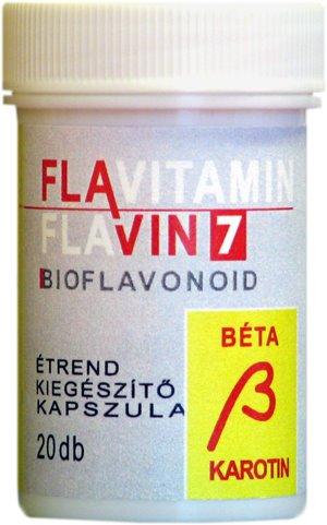 Flavitamin Béta Karotin 60 db