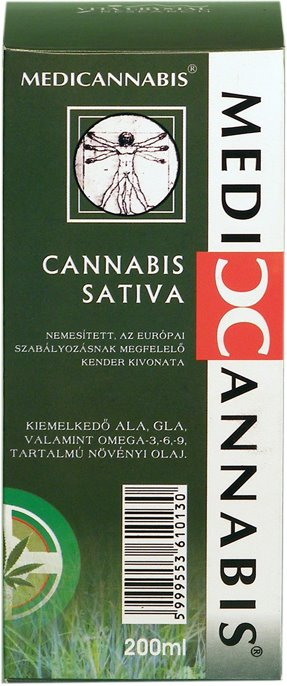 Cannabis Sativa Cannabinoid Oil 200ml