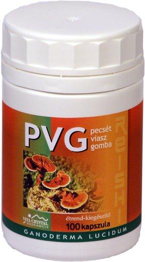 PVG kapszula-Ganoderma Lucidum 100 db