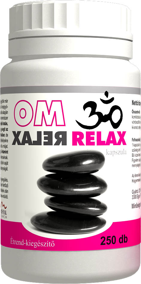 OM Relax kapszula 250db