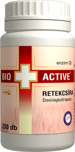 Bio+Active Retekcsíra kapszula 250db