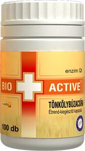 Bio+Active Tönkölybúzacsíra kapszula 100db