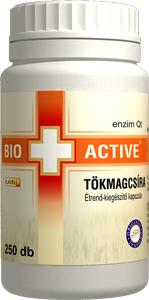 Bio+Active Tökmagcsíra kapszula 250db