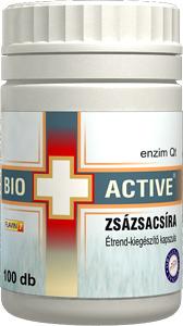 Bio+Active Zsázsacsíra kapszula 100db