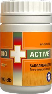 Bio+Active Sárgarépacsíra kapszula 100db