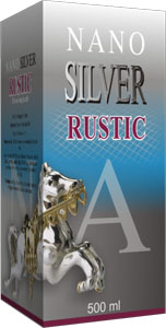Crystal Silver Natur Power Rustic 500ml