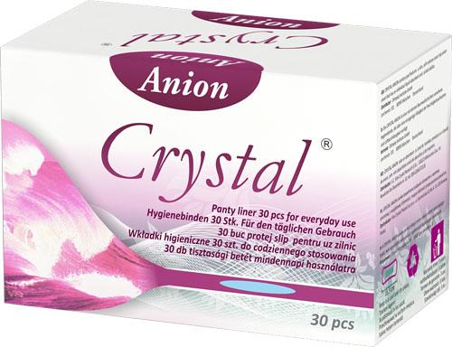 Crystal Anion Tisztasági betét 10doboz