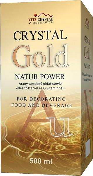 Crystal Gold Natur Power 500ml