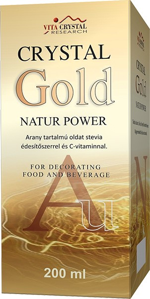 Crystal Gold Natur Power 200ml