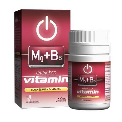 E-lit vitamin - Mg+B6 60db
