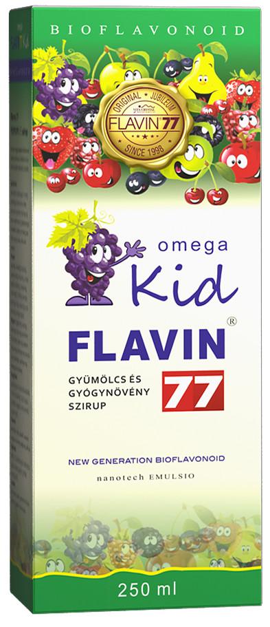 Flavin77 Omega Kid szirup 250ml