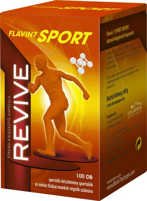 Flavin7Sport Revive 100db kapszula