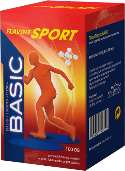 Flavin7 Sport Basic 100db kapszula