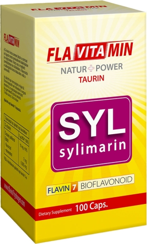 Flavitamin Sylimarin 100 db