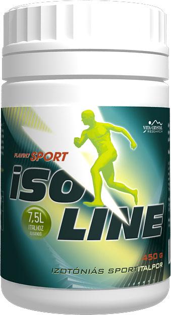 Isoline 450g izotóniás sportitalpor