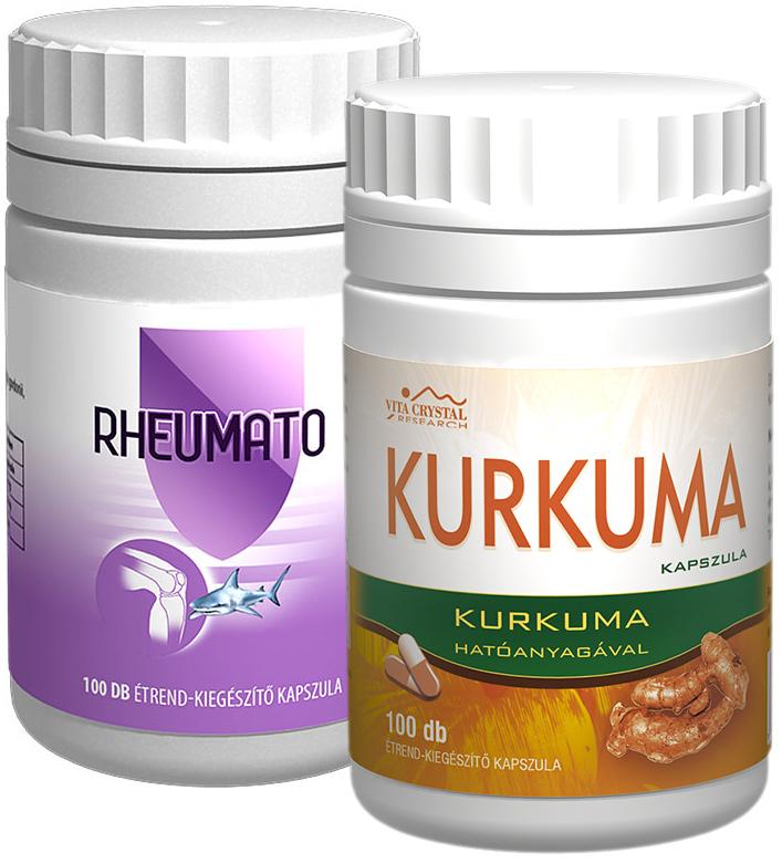 Kurkuma kapszula 100 db + Rheumato kapszula 100 db