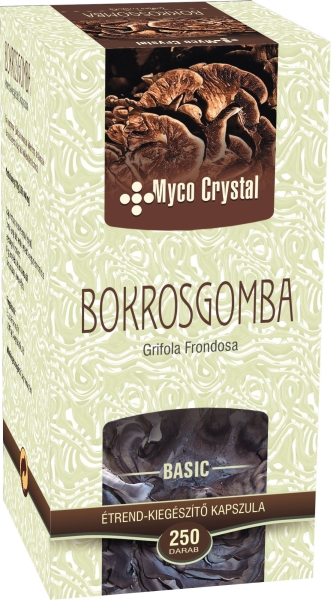 Myco Crystal Bokrosgomba kapszula 250db