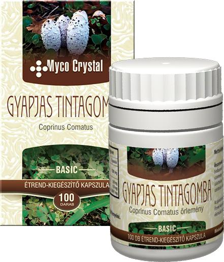 Myco Crystal Gyapjas tintagomba kapszula 100db