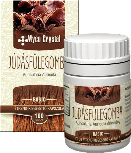 Myco Crystal Júdásfülegomba kapszula 100db