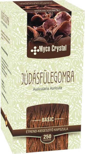 Myco Crystal Júdásfülegomba kapszula 250db