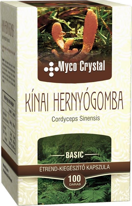 Myco Crystal Kínai hernyógomba 100db