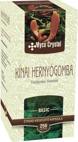 Myco Crystal Kínai hernyógomba kapszula 250db