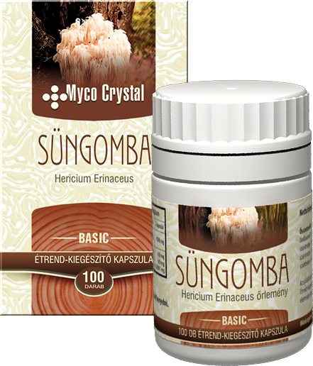 Myco Crystal Süngomba kapszula 100db