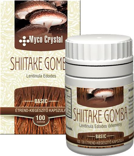 Myco Crystal Shiitake kapszula 100db