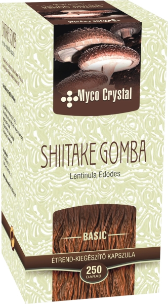 Myco Crystal Shiitake kapszula 250db