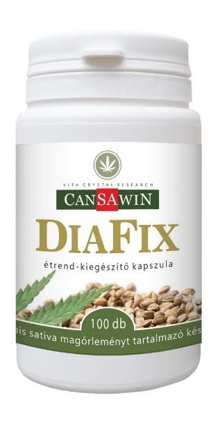 Cansawin Diafix 100 kapszula