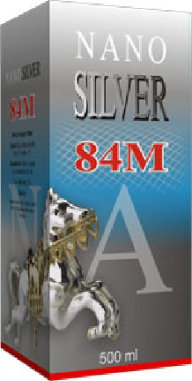 Crystal Silver Natur Power 84M 500ml