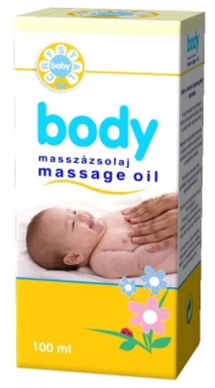 Body masszázsolaj 100ml