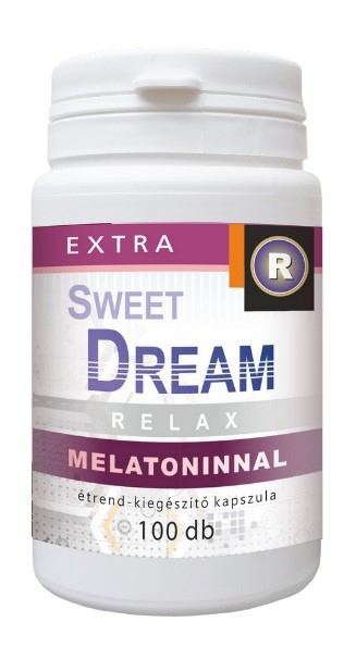 Sweet dream melatoninnal 100db kapszula